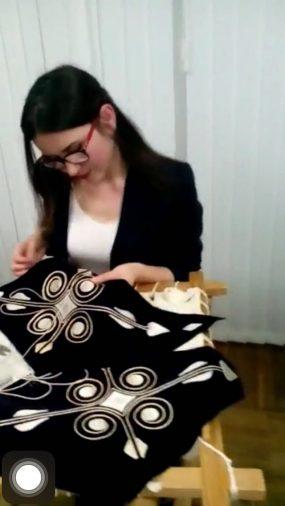 мастер-класс по золотному шитью. Тенгизова Алена