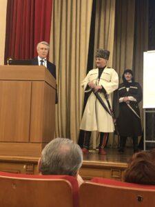 ЛЕКЦИЯ О ЧЕРКЕССКОЙ ШАШКЕ В МОСКВЕ