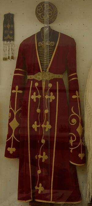 ЗОЛОТОШВЕЙНОЕ ИСКУССТВО АДЫГОВ (ЧЕРКЕСОВ)